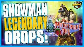 Download Borderlands 2 | Legendary Loot from the Snowman & Bee Shield Drop! Video