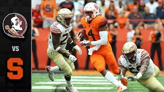 Download Florida State vs. Syracuse Football Highlights (2018) Video