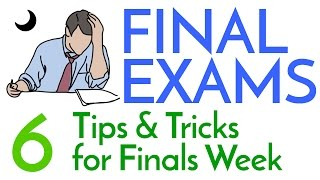 Download Finals Week! - 6 Study Tips & Tricks Video