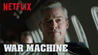 Download War Machine | Official Trailer [HD] | Netflix Video