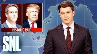 Download Weekend Update on Michael Cohen Raid - SNL Video