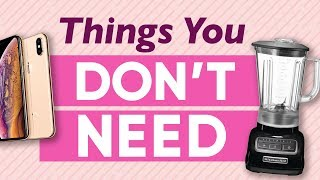 Download 9 Unnecessary Items You Think You Need To Buy Video