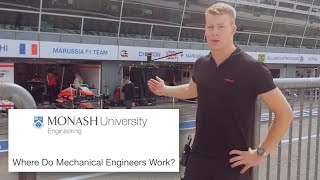 Download Where Do Mechanical Engineers Work? Video