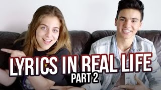 Download LYRICS IN REAL LIFE ft. Daniel Skye PART 2 | Baby Ariel Video