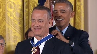 Download Obama Awards Presidential Medal of Freedom FULL EVENT Video