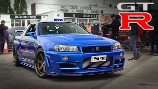 Download Nissan Skylines & GTRs leaving a Car Show Video