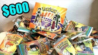 Download VINTAGE BOX OPENING! - Unboxing a Pokemon TCG GYM HEROES BOOSTER BOX from the year 2000! Video