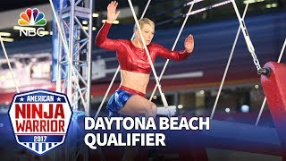 Download Jessie Graff at the Daytona Beach Qualifiers - American Ninja Warrior 2017 Video