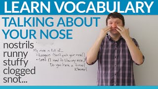Download Learn English Vocabulary: Talking about your nose! Video