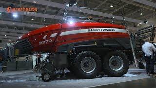 Download Neue Trakoren im neuen Design - Das gibt es bei Massey Ferguson auf der Agritechnica zu sehen Video