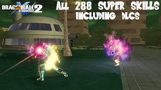Download DragonBall Xenoverse 2 - All 288 Super Attacks Sorted Alphabetically (DLC 3 updated) Video