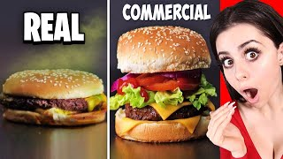 Download Food In Commercials VS In Real Life ! Video