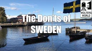 Download Visit Sweden - The DON'Ts of Sweden Video