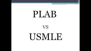 Download PLAB vs USMLE Video