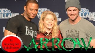 Download Heroes & Villains Fan Fest San Jose 2017: Arrow Panel Video