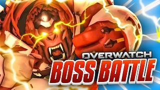 Download OVERWATCH WINSTON 6v1 BOSS BATTLE CUSTOM GAME Video