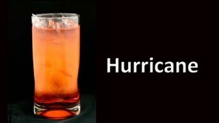 Download Hurricane Cocktail Drink Recipe Video