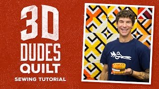 Download How to Make a 3D Dudes Quilt with Rob! Video