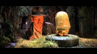 Download Raiders of the Lost Ark - Golden Idol and Boulder Scene Video
