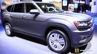 Download 2017 Volkswagen Atlas SEL V6 4motion - Exterior Interior Walkaround - Debut at 2016 LA Auto Show Video