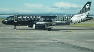 Download Airbus A320 of Air New Zealand AKL - CHC 2013 Passenger Perspective Video