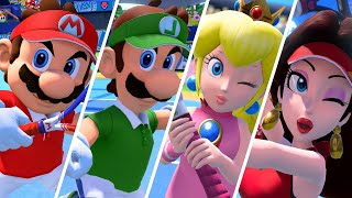 Download Mario Tennis Aces - All Character Entrances (DLC Included) Video