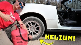 Download We Filled Our Tires With HELIUM! Video
