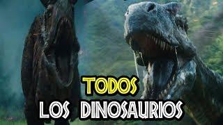 Download TODOS LOS DINOSAURIOS DE JURASSIC WORLD: FALLEN KINGDOM Video
