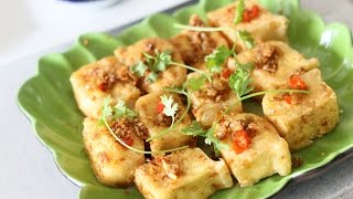 Download Lemongrass Chili TOFU - Dau phu chien sa ot (Vegan) Video