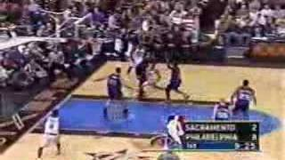 Download 2000 Sacramento Kings vs Philadelphia 76ers 1/14 Video
