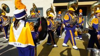 Download Miles College marching in - Turkey Day Classic 2016 Video