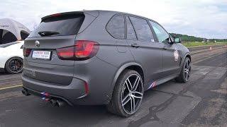 Download BMW X5 M G-POWER - REVS & DRAG RACE! Video