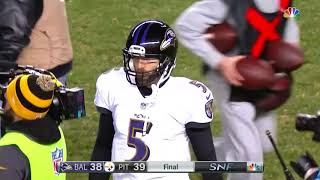 Download Ravens Don't Realize The Clock is Running After A Strip Sack and Lose The Game   NFL Video