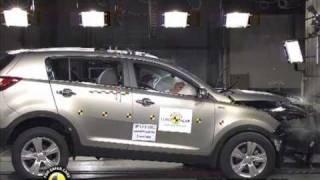 Download New Euro NCAP Crash Test Kia Sportage 2011 Video