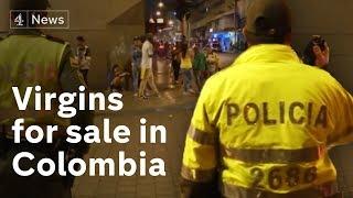 Download Virgins for sale in Colombia in 'world's biggest brothel' Video