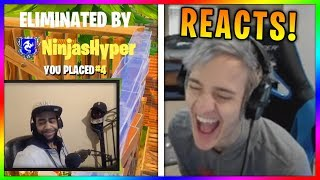 Download Ninja Reacts to ″Why Ninja is my favorite Fortnite Streamer″ Video