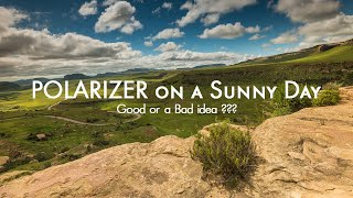Download Polarizer Filter in Daylight for your Landscape Photos Video
