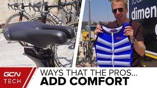 Download Pro Cycling Hacks To Make Bikes More Comfortable | Vuelta a España Tech Video