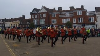 Download Band of the Corps of Royal Engineers: Beating Retreat at Battle Abbey, 950th Anniversary of Hastings Video