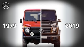 Download Mercedes-Benz G-Class Evolution 1979-2019 | New Vs Old Video