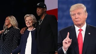 Download Donald Trump TRASHES Beyonce & Jay Z For Their Hillary Clinton Support Video
