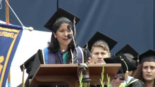 Download UC Berkeley Medalist Radhika Kannan Speaks at Commencement Video