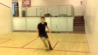 Download England Squash Player Training Footwork Drill Video