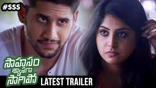 Download Saahasam Swaasaga Saagipo Movie Latest Trailer | Naga Chaitanya | AR Rahman | Gautham Menon Video