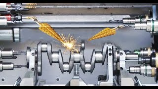 Download Germany CNC Technology - Complete a Crankshaft for Volkswagen Super Car Engine Video
