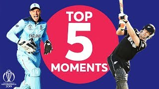 Download Stokes? Buttler? Neesham? | England vs New Zealand - Top 5 Moments | ICC Cricket World Cup 2019 Video