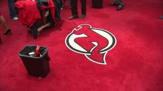 Download DON'T STEP ON THE LOGO - NHL Dressing Room Protocol Video