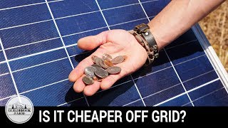 Download Is It Cheaper Off-Grid? Our First 5 Months Living Off The Grid Video