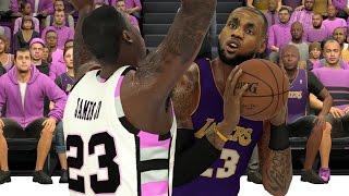 Download NBA 2K17 Goof Troop - LBJ vs LBJ Jr. Video