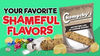 Download Your Favorite Shameful Flavors As Chips! Video